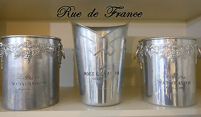 Vintage French  Champagne Ice Buckets / Wine Buckets -  Moet And Chandon