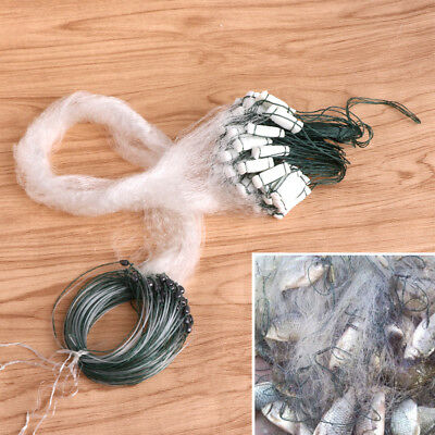Nylon Fishing Net Single Mesh Durable Accessories Float Trap Monofilament Gill