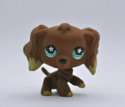 Pet Shop Dog Spaniel Animal child girl boy figure loose cute LPS985