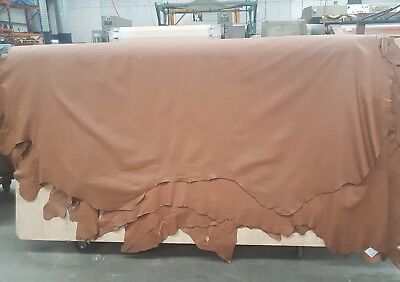 Light Brown Upholstery Full Hide