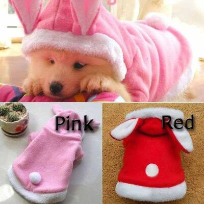 Fleece Cute Dress Up costume Autumn Pet Dog Fashion Winter Jumpsuit