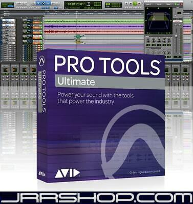 Avid Digidesign Pro Tools 12 HD Renewal New JRR Shop