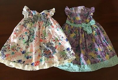 2 X Size 1 Dresses, Baby Girl, Lucie & Marc, Pumpkin Patch