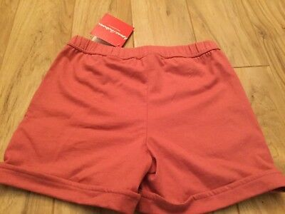 Hanna Andersson Girls Pink Shorts. Size 120. New with Tags.