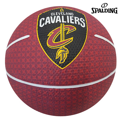 Cleveland Cavaliers Team Basketball Series Licensed Spalding Balls