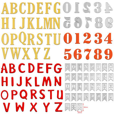 5CM Alphabet Letter Number Cutting Dies Stencil Scrapbooking Paper Card Craft