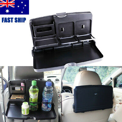 Kids Car Back Seat Organiser Snack Play Tray Drink Holder Dining Table Travel