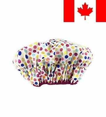 Betty Dain 5235 Stylish Design Mold Resistant Shower Cap, 1-Count, 2.08-Ounce