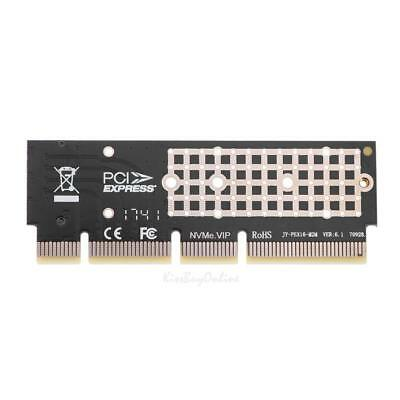 M.2 NGFF NVMe SSD to PCIE 3.0 X16/X8/X4 Expansion Card Adapter for 1U/2U Server