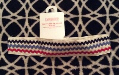NWT Gymboree Vintage 2008 Holland Days Line Headband Cotton w/ Ricrac Rare & HTF