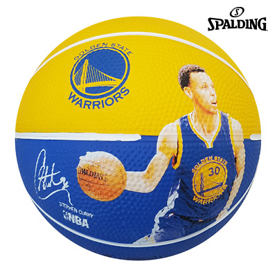 Stephen Curry Basketball Series Licensed Spalding GSW Logo Signature Balls