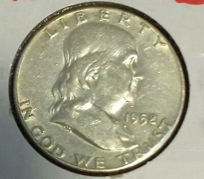 1952 S Franklin Half Dollar