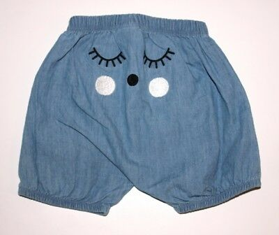 Baby Girl Size 000 #190 - Seed Super Soft Denim Bloomers/Nappy Cover