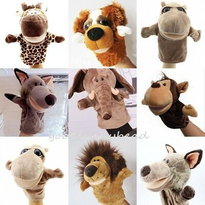 Story Learning Baby Kid Children Soft Plush Toys Animal Hand Glove Puppets Cute