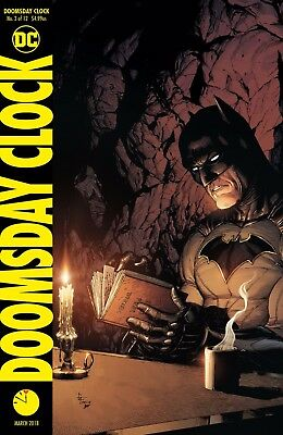 Doomsday Clock #3 Variant - Dc - Release Date 24/01/18