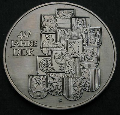 GERMANY (DDR) 10 Mark 1989 A - Copper/Nickel/Zinc - East German Government - 255