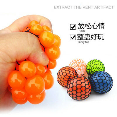 Squishy Mesh sensory stress reliever ball toy autism squeeze anxiety