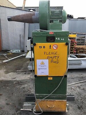 Spenstead industrial dust extractor