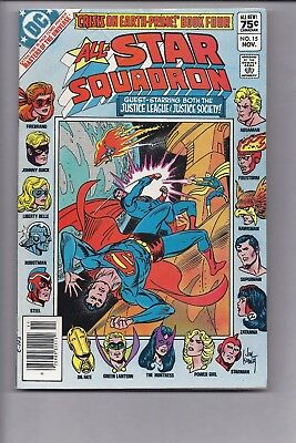 Canadian Newsstand Edition $0.75 Price Variant All-Star Squadron #15