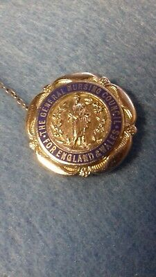 A Ww2 Period English General Nursing Council Badge Named Dated 1944 Nurse Badge