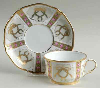 Faberge GOLD ENAMEL & JEWELED Cup & Saucer 7678381