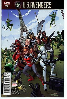 Us Avengers  #7  * First Print *  Secret Empire Tie-In   Nm
