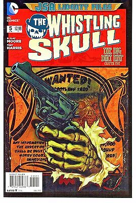 The Whistling Skull #5    * First Print *   Jsa Liberty Files       Nm