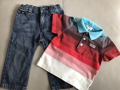 Baby Boys Hugo Boss Outfit Age 18months