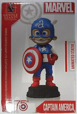 New! Gentle Giant Captain America Animated Marvel Statue Full Color - READ