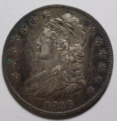 1836 Capped Bust Half Dollar P159