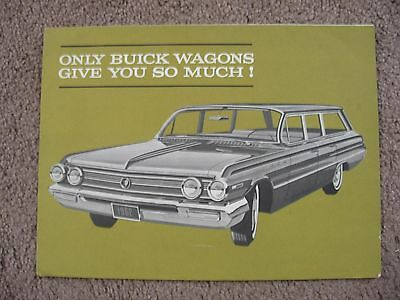 1962 Buick Station Wagon Dealer Brochure