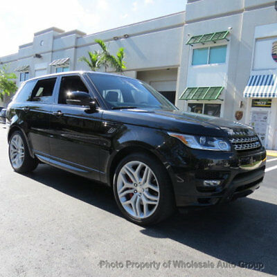 2014 Land Rover Range Rover Sport 4WD 4dr Autobiography BEST COLOR. ONE OWNER CAR . PERFECT CAR . MUST SEE