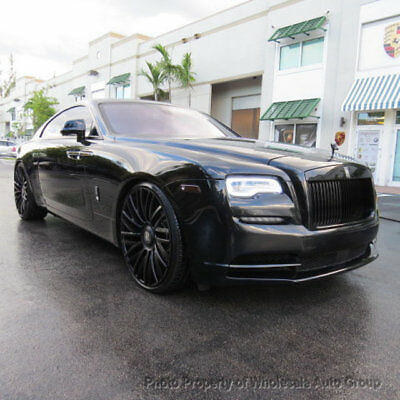 2014 Rolls-Royce Wraith 2dr Coupe FULLY LOADED. TV CELEBRITY OWNED . MANY 2016 YEAR MODEL UPGRADES . MUST SEE