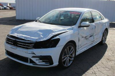 2017 Volkswagen Passat R-Line 2017 Volkswagen Passat R-Line Salvage Wrecked Rebuilable! Only 528 Miles! L@@K!!