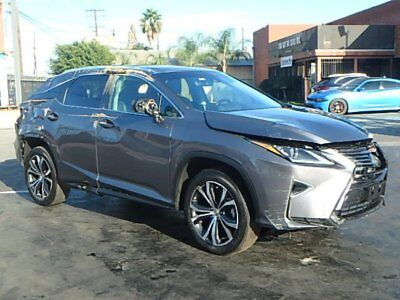 2017 Lexus RX 350 2017 Lexus RX350 Damaged Wrecked Only 9K Mi Luxurious Loaded Priced to Sell L@@K