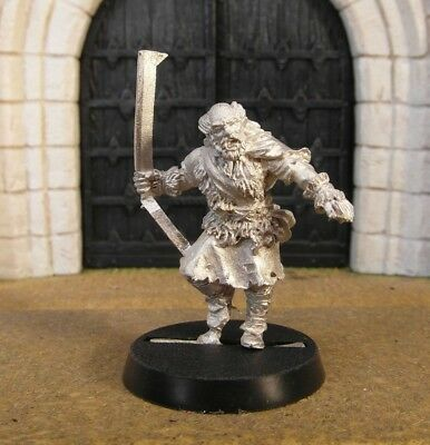 WILDMAN OF DUNLAND - Lord Of The Rings Metal Figure(s)