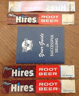 Old Hires Root Beer Selling Guide Pocket Book Copyright 1951 With Extras Look