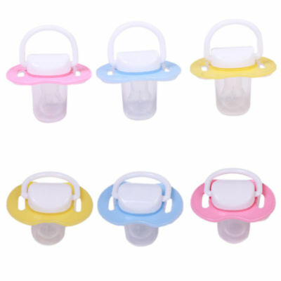 Safety Silicone Infant Baby Nipple Feeding Pacifier Soothie Clips Newborn