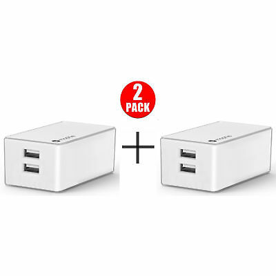mophie Dual USB Port High Powered 4.2A Wall Charger (2 Pack)