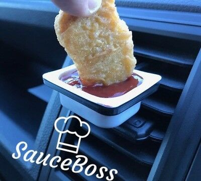 Car DipClip | Dip Clip | Car Vent Sauce Holder | SAME DAY DISPATCH!