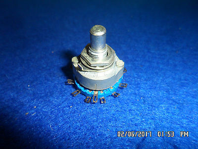 Vintage Unknown Maker Rotary Pot Switch 3 Way 5 Position 15 TerminalAudio/Guitar