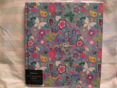 Paperchase Self-Adhesive Photo Album, 20 pages, Butterflies/Flowers, New