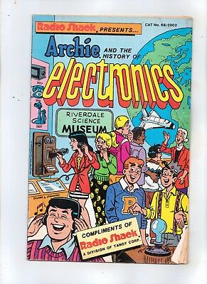 ARCHIE AND THE HISTORY OF ELECTRONICS with BETTY, VERONICA and DILTON