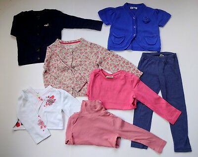 Girls 2-3 years Bundle: Cardigans, Bolero, Tops and Leggings