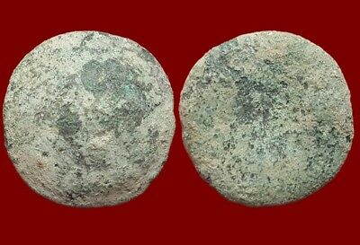 *Prados* Awesome Ancient Celtic Bronze Precoin - 43x42 mm / 95,90 gr.
