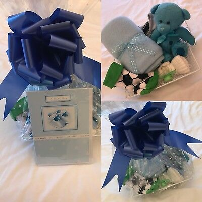 Baby Boys New Baby gift Basket /baby Shower/maternity Gift
