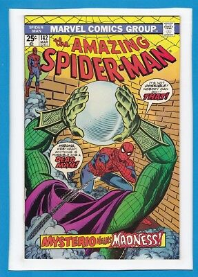 Amazing Spider-Man #142_March 1975_Very Fine+_Mysterio_Gwen Stacy Clone Cameo!