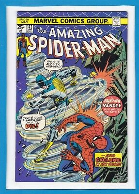 AMAZING SPIDER-MAN #143_APRIL 1975_FINE+_1st APP OF CYCLONE_GWEN STACY CLONE!