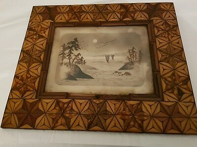 antique Japanese picture
