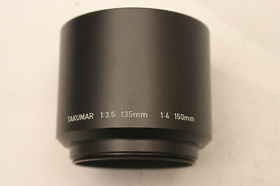 Pentax Takumar 135mm/150mm lens hood.  49mm screw fit